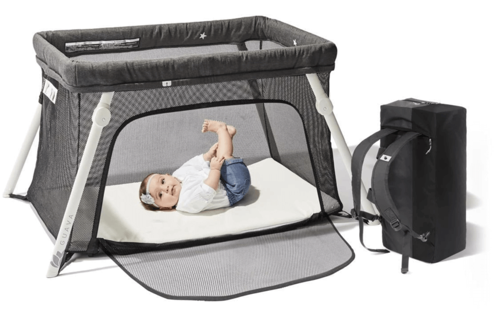 Guava Family Lotus Travel Crib and Carrying Case