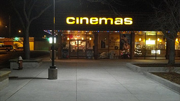 Affordable family winter getaway: Overland Park Cinemas is like a shrine to the 90s Blockbuster era and would provide a fun and unique movie-going experience for any family.