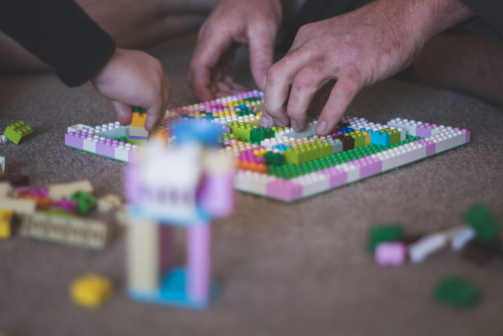 Try doing a World Landmark Lego Challenge with your kids.