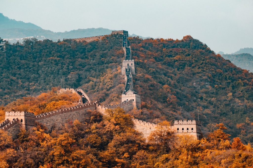 The Great Wall of China is one of the 7 Wonders of the World. Check it out from Google Earth.