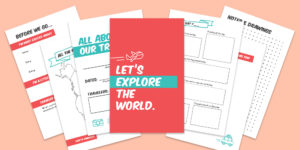 Free Printable Kids Travel Journal