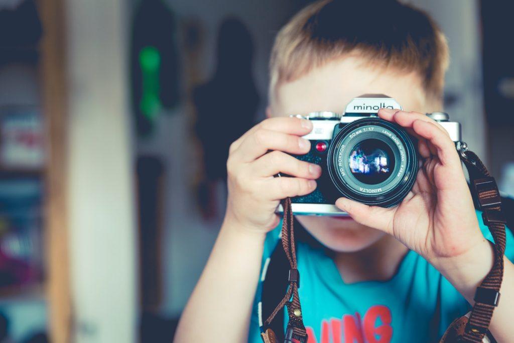 Photo scavenger hunt for kids.